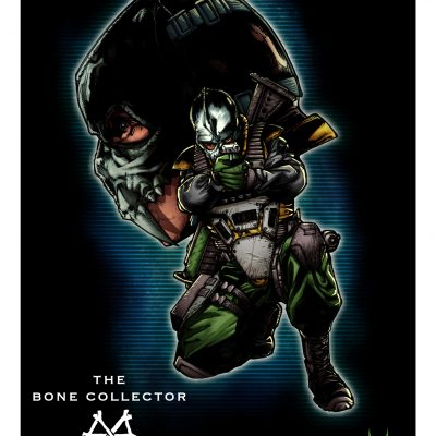Action Force Bone Collector Art Print
