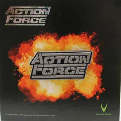 Action Force Enamel Pin