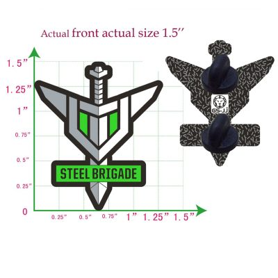 Steel Brigade Enamel Pin