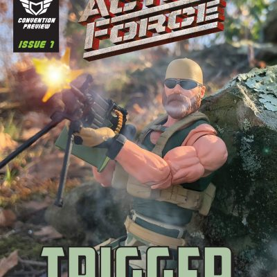 Action Force NJCC 2019 Preview Comic