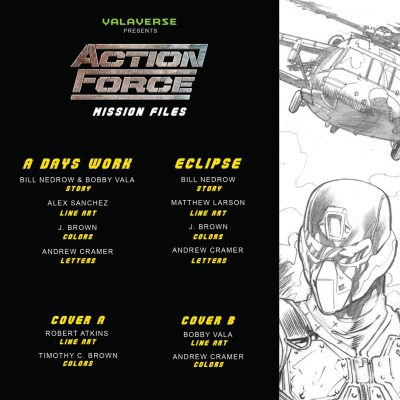 Action Force: Mission Files Issue 3 CVR A
