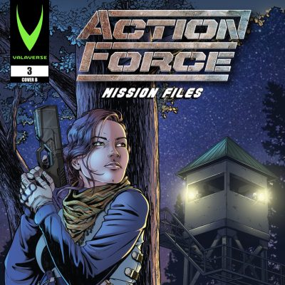 Action Force: Mission Files Issue 3 CVR B