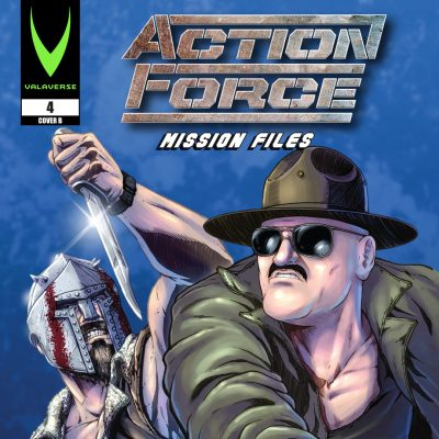 Action Force: Mission Files Issue 4 CVR B