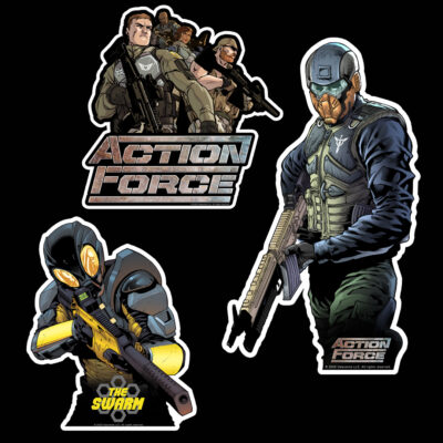 Action Force Sticker Pack