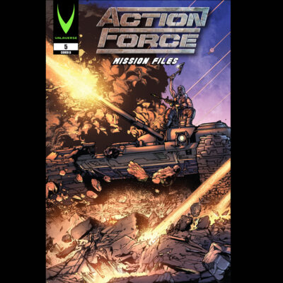 Action Force: Mission Files Issue 5 CVR B