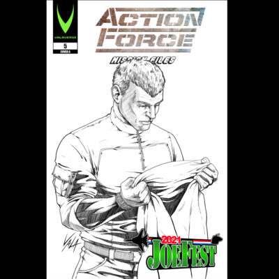 Action Force: Mission Files Issue 5 B&W Exclusive
