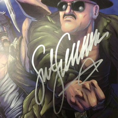 Action Force: Mission Files Issue 4 CVR B Signed by SGT SLAUGHTER